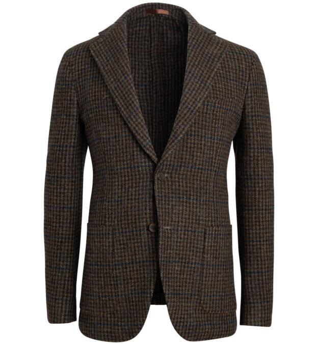 Waverly  Washed Tweed Gun Check Jacket