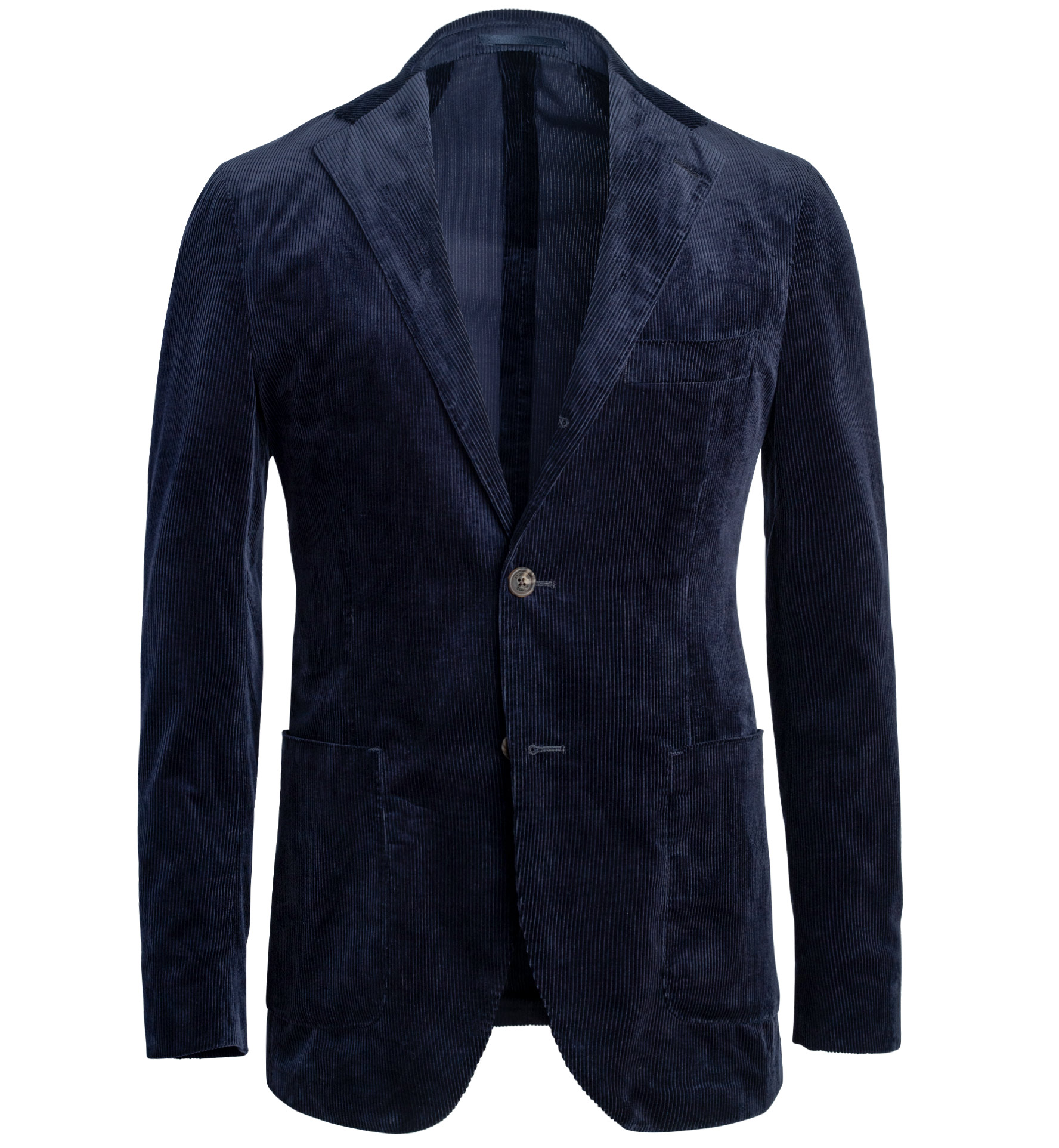 Zoom Image of Waverly Navy Lightweight Supima Corduroy Jacket