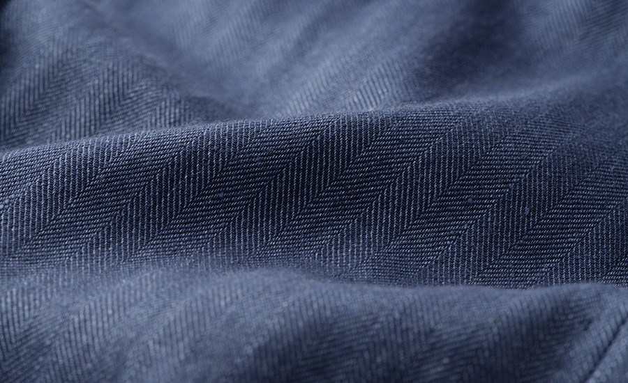 Detail of Leomaster Stretch Cotton and Linen