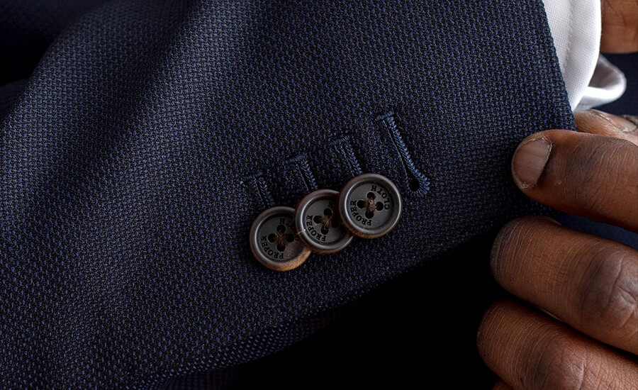 Detail of Reda Merino Wool