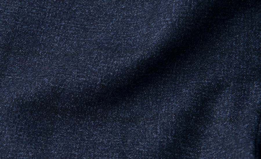 Detail of Reda Brushed Merino Wool