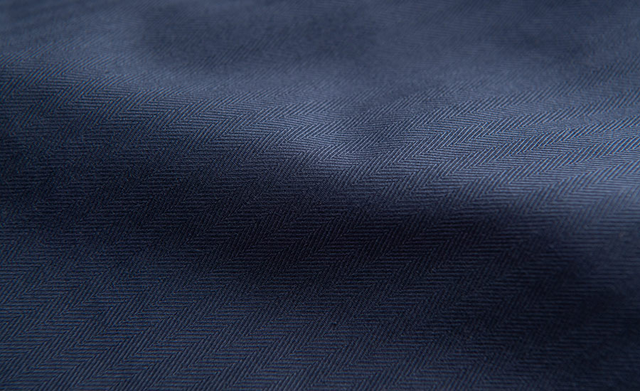 Detail of Nuova Tessilbrenta Stretch Herringbone