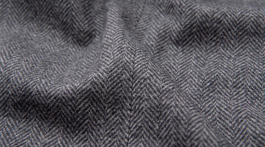 Detail of Dino Filarte Merino Wool