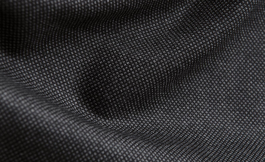 Detail of VBC S110s Wool Fabric