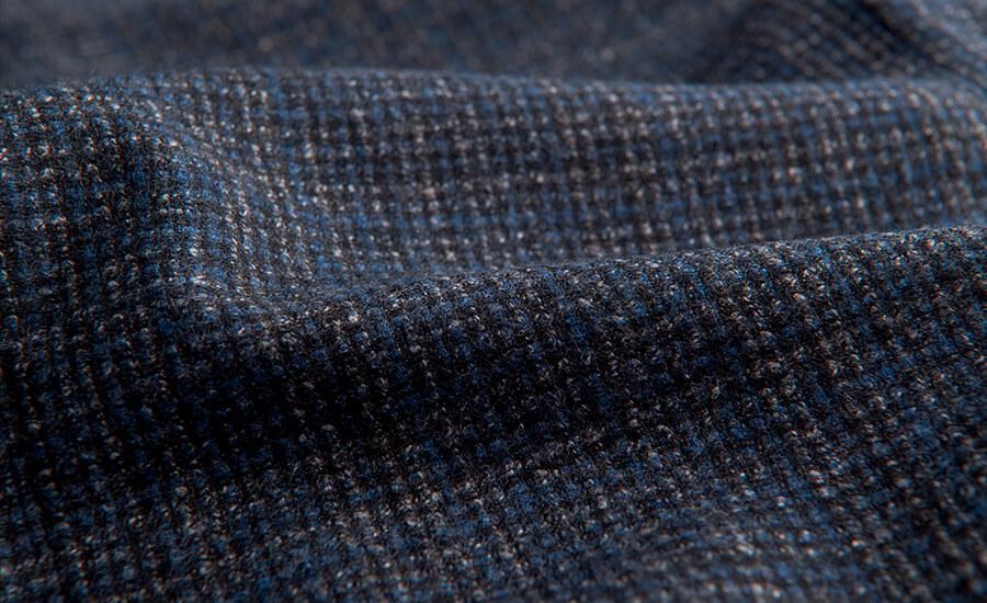 Detail of Zignone Merino Wool
