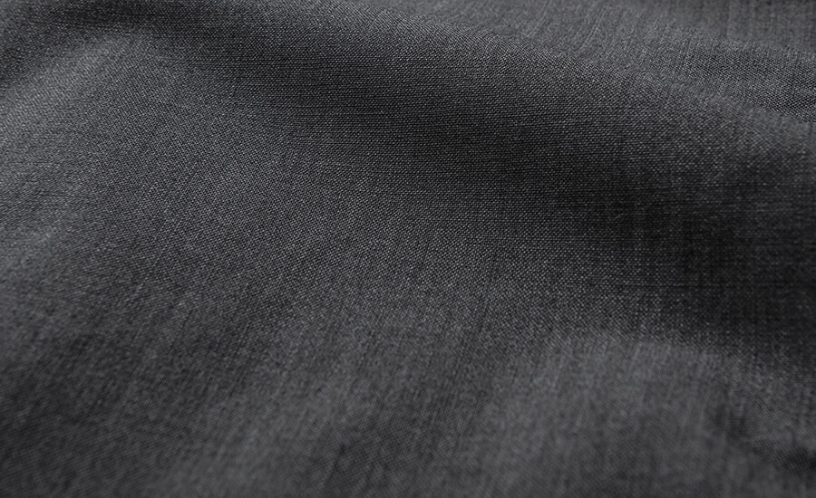 Detail of Italian Stretch Tropical Wool