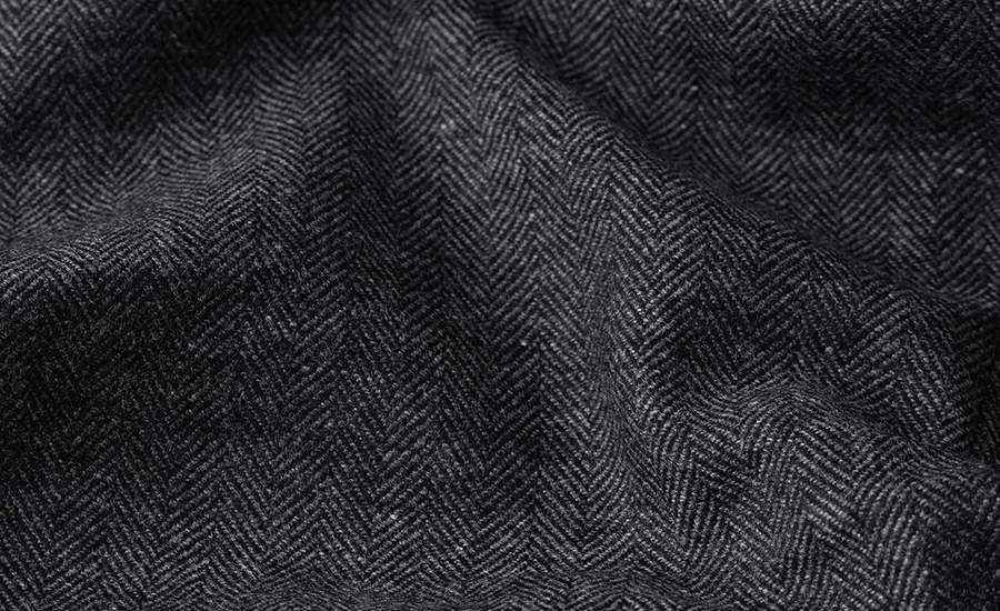 Detail of E. Thomas Wool Cashmere