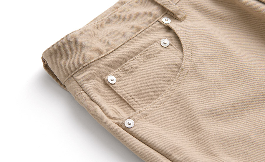 Detail of The Iconic 5-Pocket Design