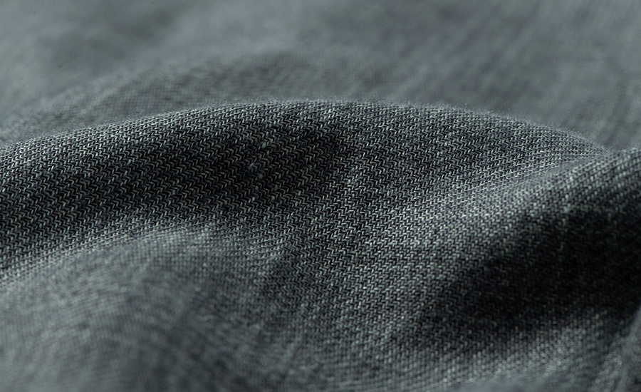 Detail of Guabello Linen and Wool
