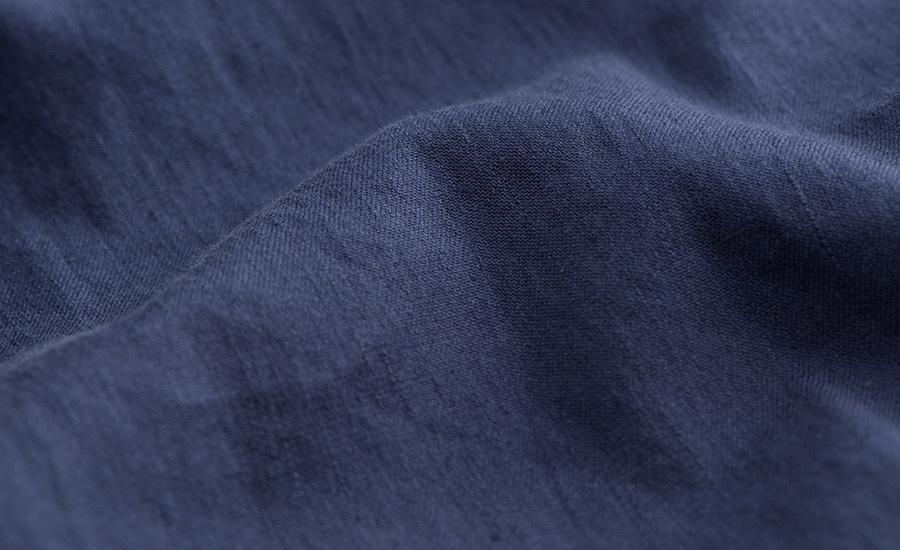 Detail of Tessuti di Sondrio Stretch Linen Blend