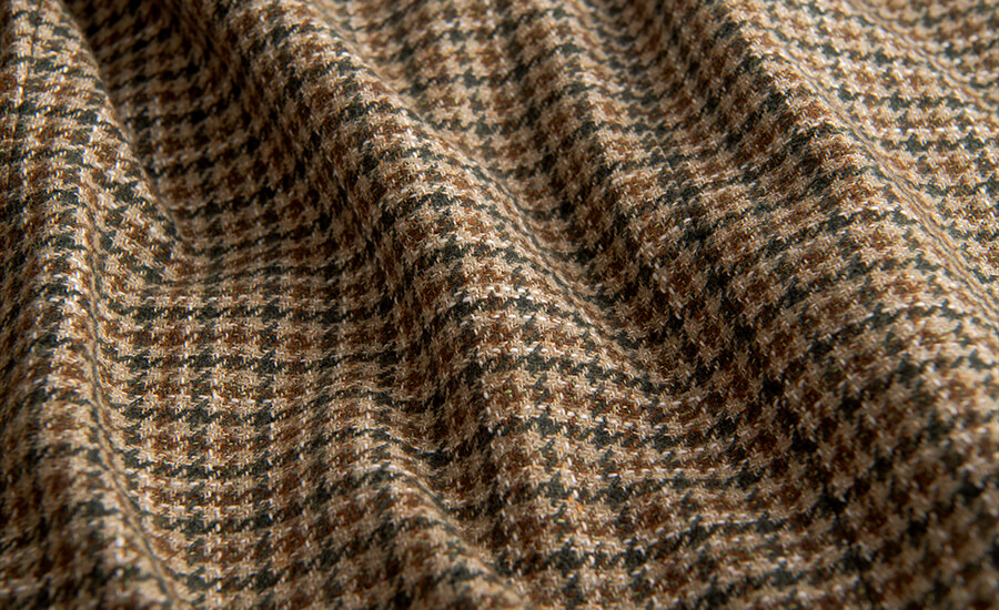 Detail of Guabello Wool, Cotton & Linen