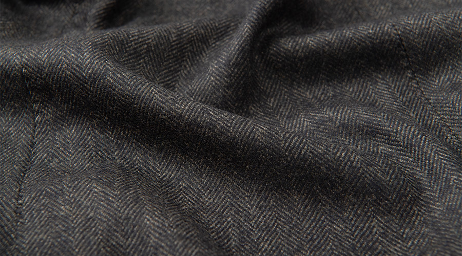 Detail of Dino Filarte Merino Wool