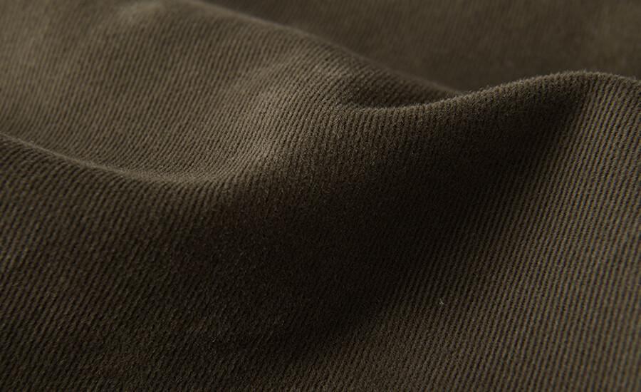 Detail of Tessuti di Sondrio Heavy Stretch Cotton