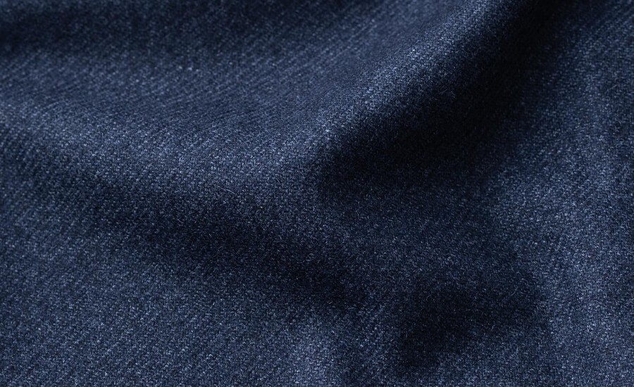 Detail of Ormezzano Wool, Silk, and Cashmere