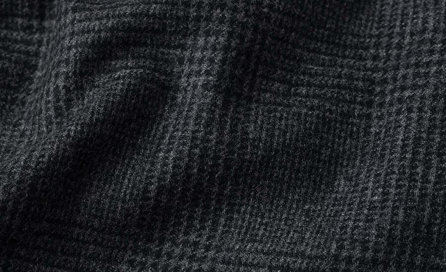 Detail of E. Thomas Wool Cashmere