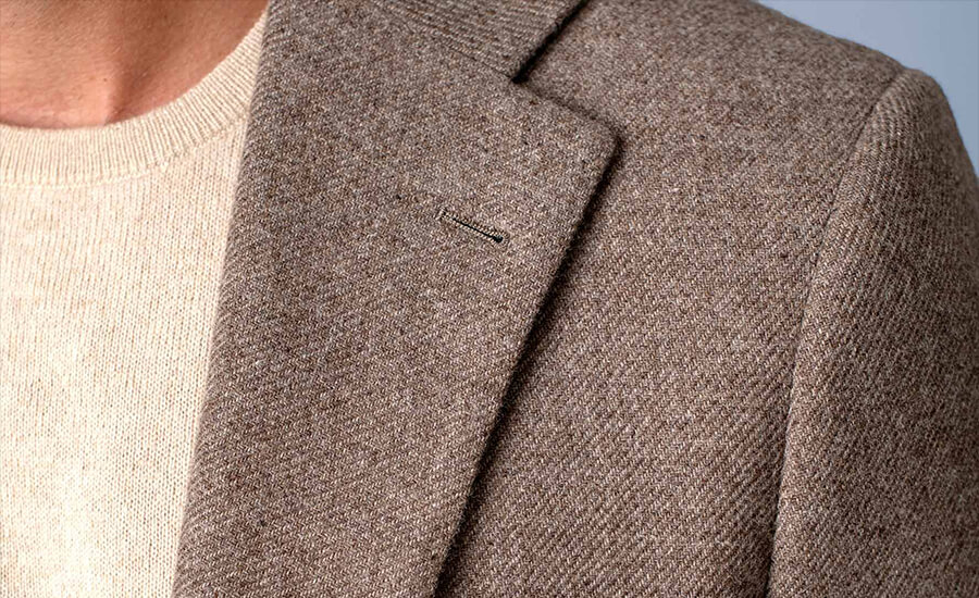 Detail of Di Pray Wool & Cashmere