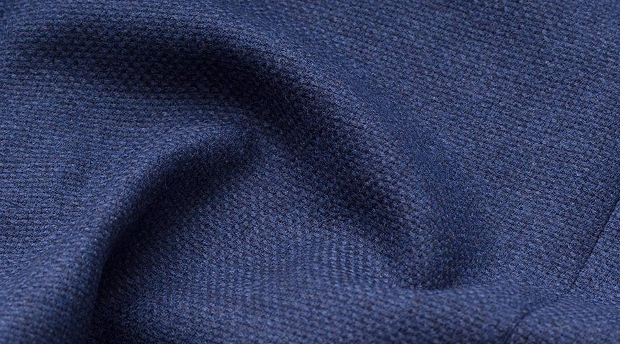 Detail of Drago Merino Wool Fabric