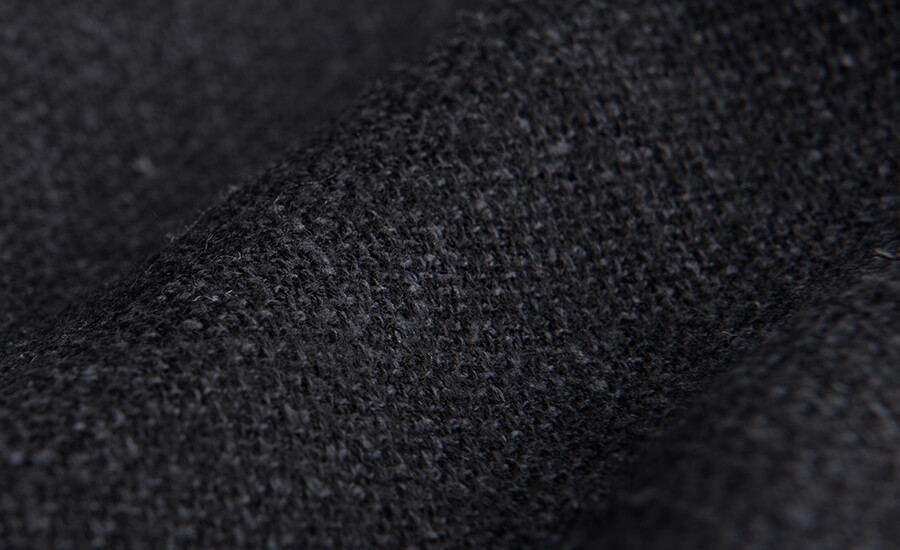 Detail of VBC Wool and Silk Blend