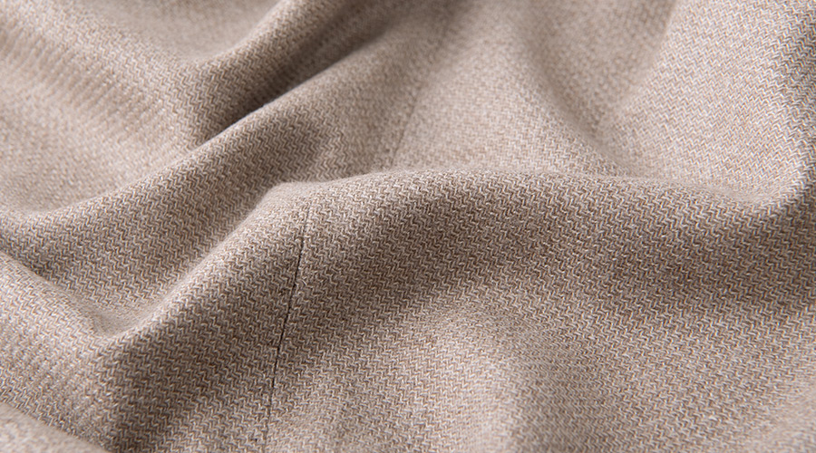Detail of Delfino Wool and Cashmere
