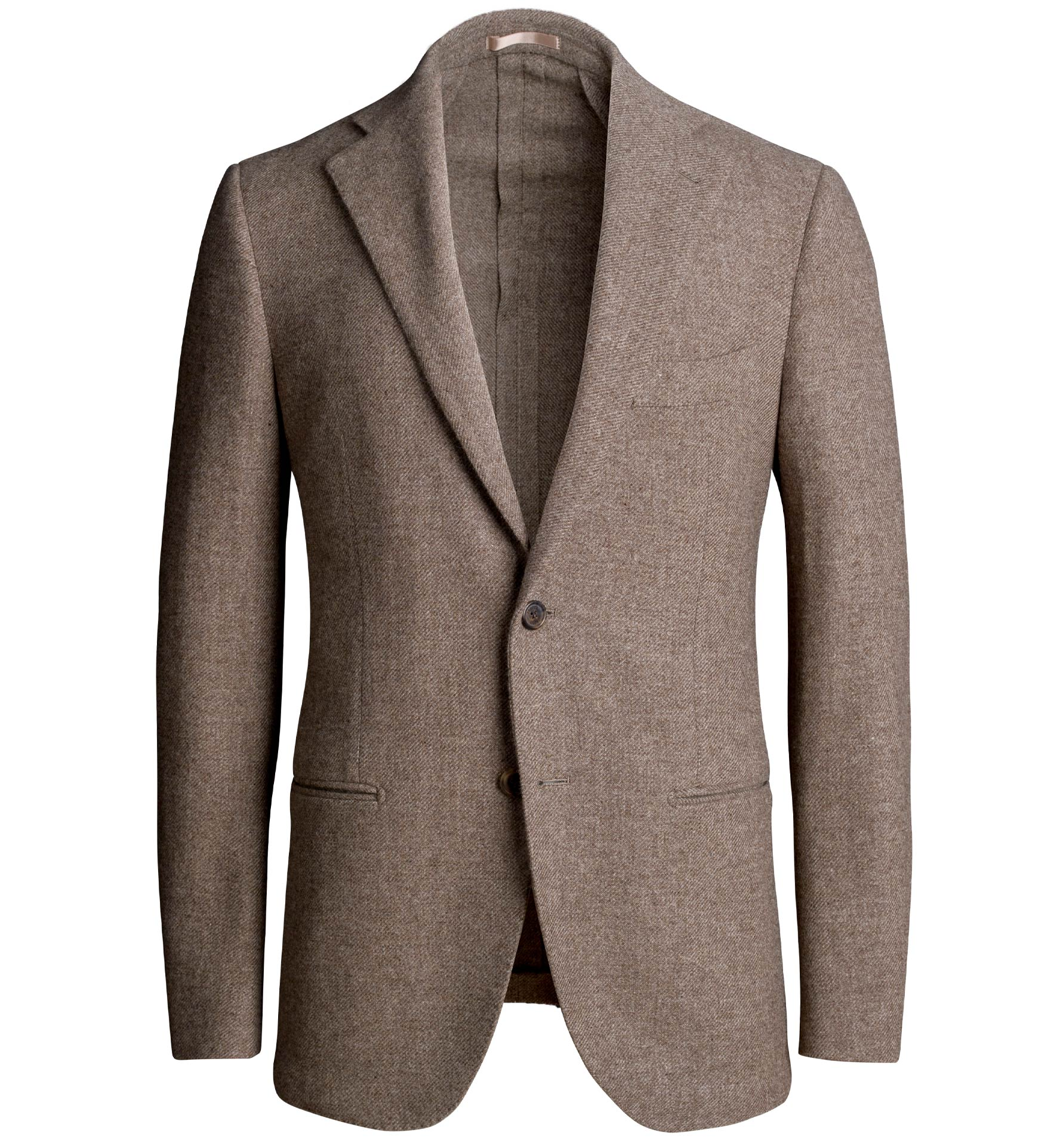 Zoom Image of Bedford Taupe Wool and Cashmere Jacket