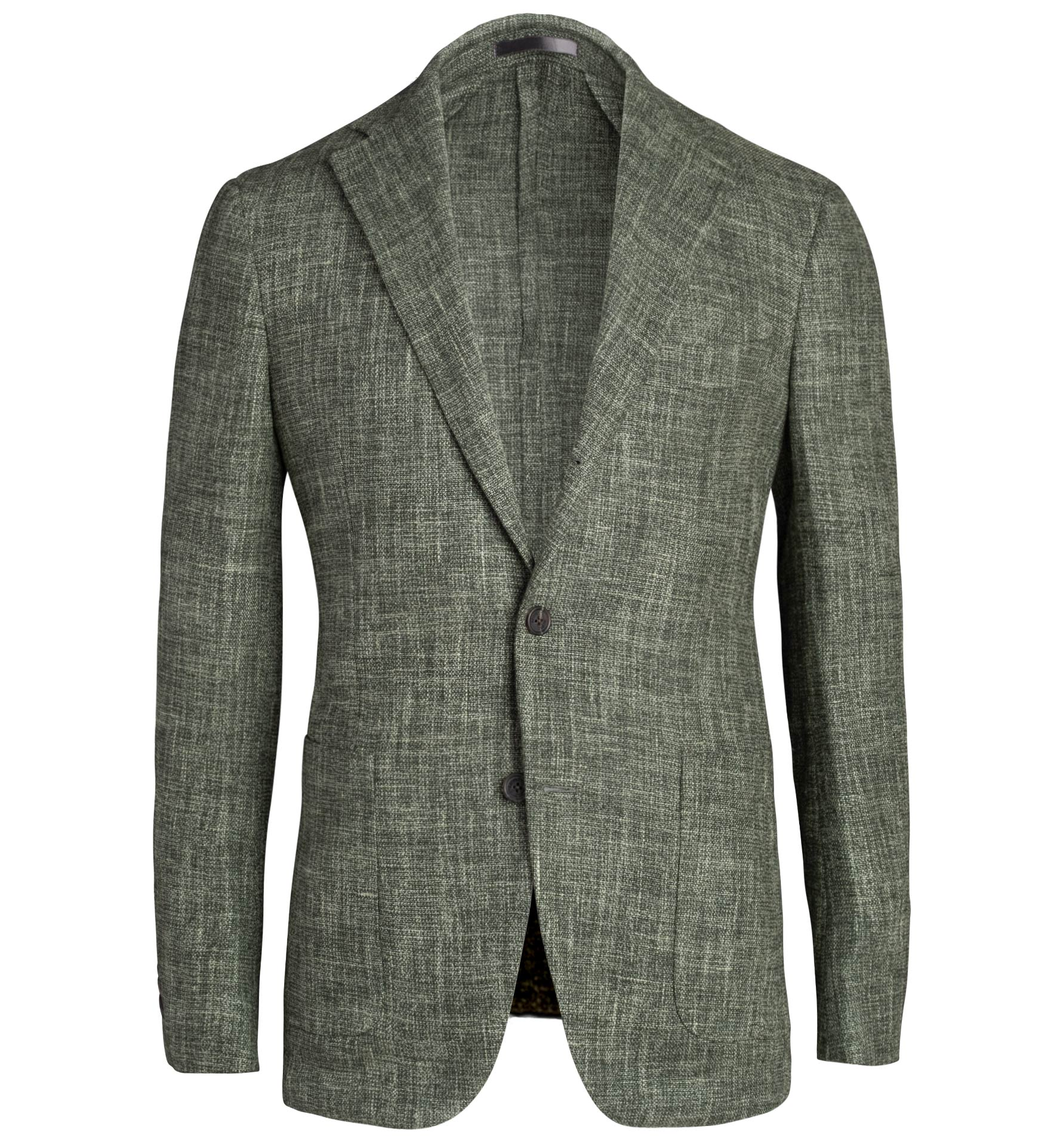Zoom Image of Waverly Sage Slub Wool Blend Jacket
