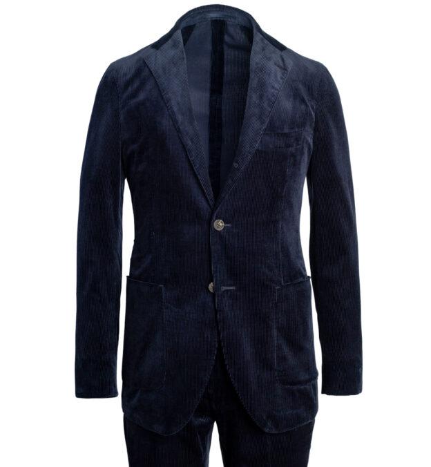 Waverly Navy Lightweight Supima Corduroy Suit