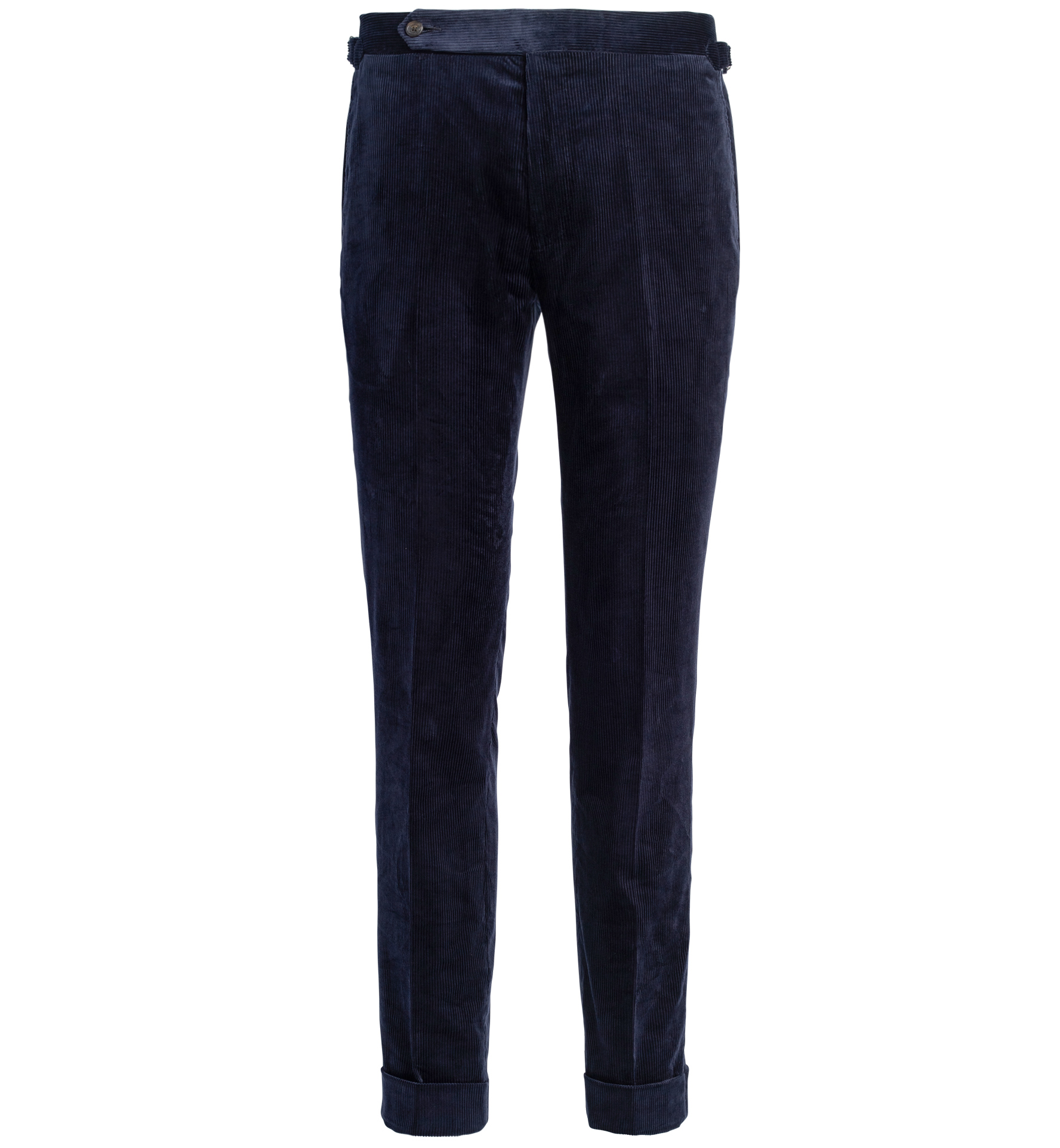 Zoom Image of Allen Navy Lightweight Supima Corduroy Trouser