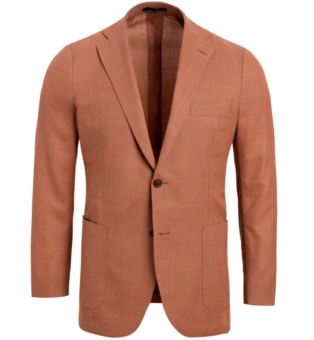 Bedford Terra Cotta Performance Hopsack Jacket