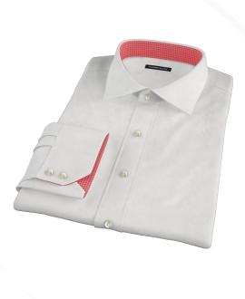 Canclini White Royal Twill Custom Made Shirt