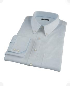 Light Blue Heavy Oxford Cloth Dress Shirt
