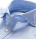 Canclini Blue Slub Stripe Shirt Thumbnail 2