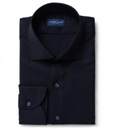 Reda Dark Navy Merino Wool Shirts by Proper Cloth