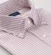 American Pima Red Melange Stripe Heavy Oxford Shirt Thumbnail 2