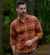 Japanese Washed Sunset Country Plaid Shirt Thumbnail 4