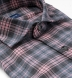 Satoyama Pink and Slate Plaid Flannel Shirt Thumbnail 2