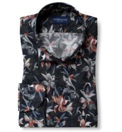 Albiate Multi Color Large Floral Print Tailor Made Shirt