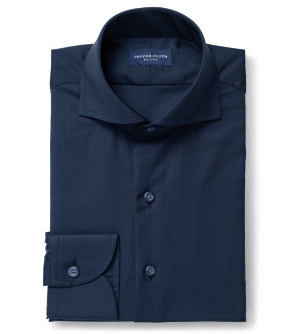 Reda Navy Blue Merino Wool