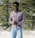 Sierra Red Navy and Grey Plaid Flannel Shirt Thumbnail 4