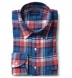 Japanese Red and Blue Plaid Shirt Thumbnail 1