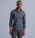 Canclini Slate and Grey Plaid Beacon Flannel Shirt Thumbnail 2