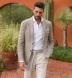 Carmel White Tencel and Cotton Knit Pique Shirt Thumbnail 3