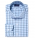 Torino Light Blue and Green Multi Check Shirt Thumbnail 1