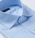Non-Iron Supima Light Blue Royal Oxford Shirt Thumbnail 2