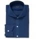 Redondo Dark Blue Linen Shirt Thumbnail 1