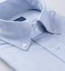 American Pima Light Blue Melange Heavy Oxford Shirt Thumbnail 2