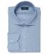 Chambray Folk Stripe Shirt Thumbnail 1