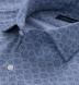 Albini Washed Foulard Print Chambray Shirt Thumbnail 2