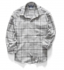 Japanese Washed Grey Country Plaid Shirt Thumbnail 3