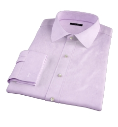 Thomas Mason Lavender Oxford Cloth Dress Shirt