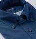 Katazome Navy Fan Print Shirt Thumbnail 2